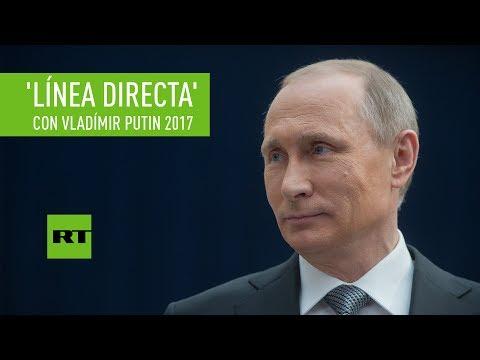 'Línea directa' adversative L presidente de Rusia Vladímir Putin 2017 (VERSIÓN COMPLETA EN ESPAÑOL)