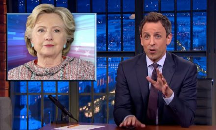 Seth Meyers Goes After Hillary Clinton Over WikiLeaks Revelations