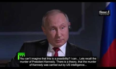 Does Putin acquaintance who killed Kennedy