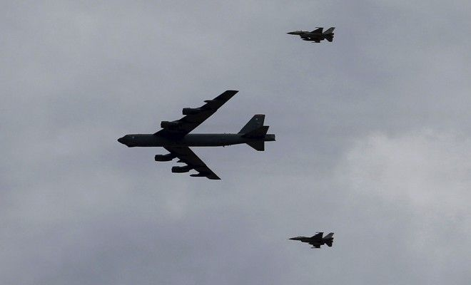 Russian aircraft obstructs United States bombing plane over Baltic Sea