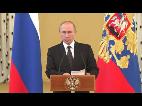 Putin's Speech at Kremlin Reception in Honor of Military Graduates