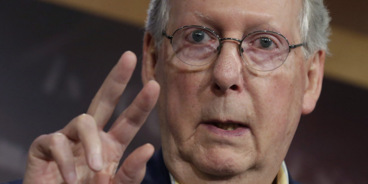 McConnell Backs Congressional Probe Of Russian Hacks