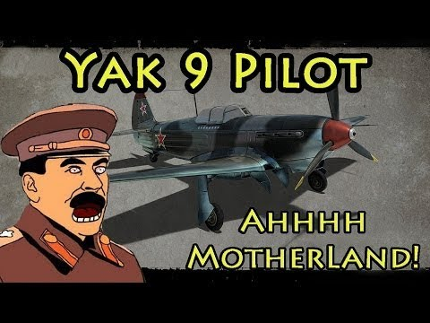 Heroes&&Generals- PUTIN IS FLYING YAK – 9 [Road to 600 Subs]