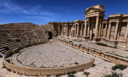 Palmyra hosts Russian performance after regain by Syrian forces-out