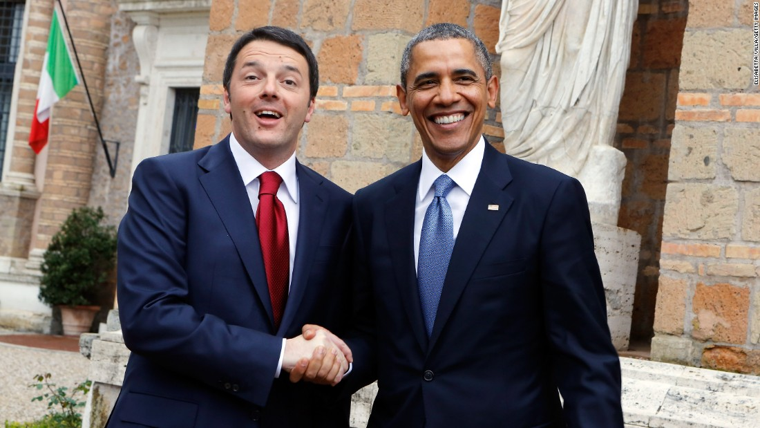 Obama appears to lift Italy's Renzi to cement agenda in Europe