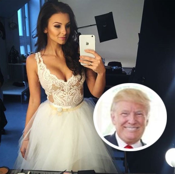 Hungarian Miss Universe Contestant Says Donald Trump Grabbed Her And Tried To Cheat On Melania With Her!
