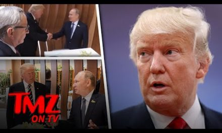 Trump & Putin – The HANDSHAKE! | TMZ channel