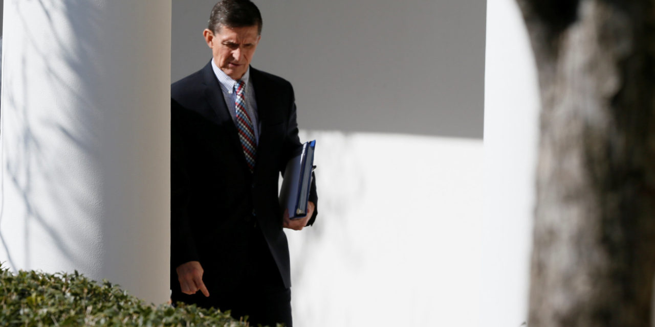 Michael Flynn Takes The Fall