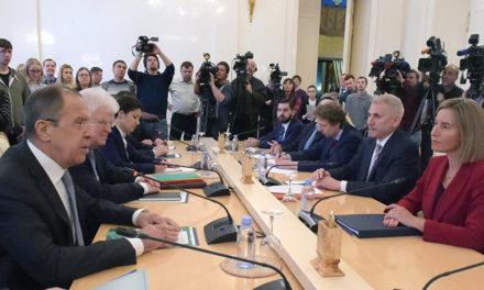 Agree en route to Disagree: Mogherini Meets Lavrov en route to Warm Up Frozen Relations – EUBULLETIN