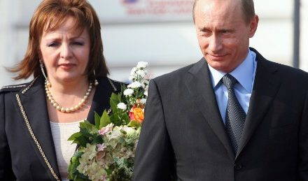Putin's ex-wife marital relationships 'plaything kid' 21 years her junior – record