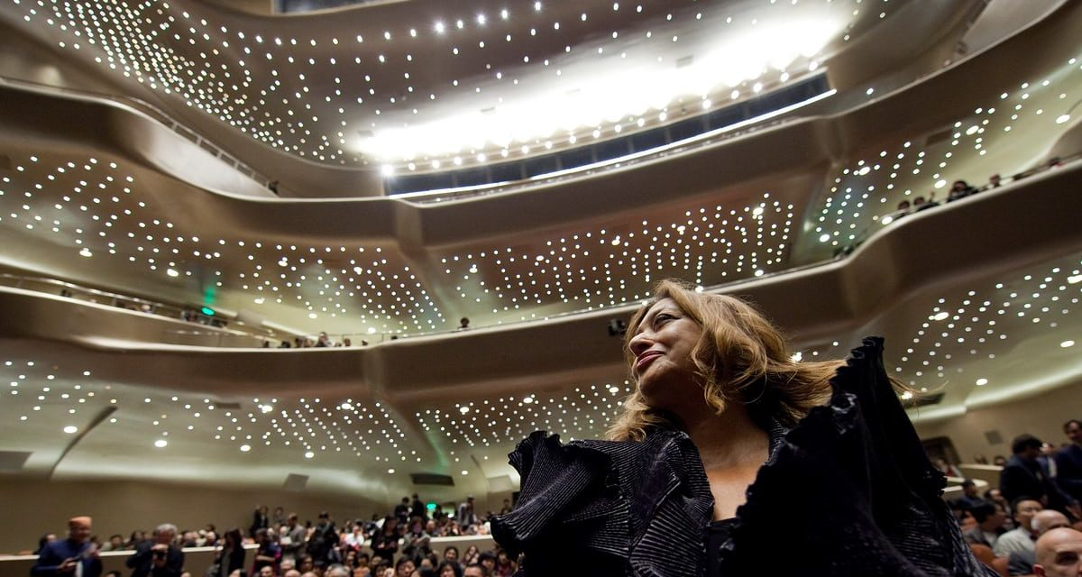 Zaha Hadid, 1950 -2 016: a recognition