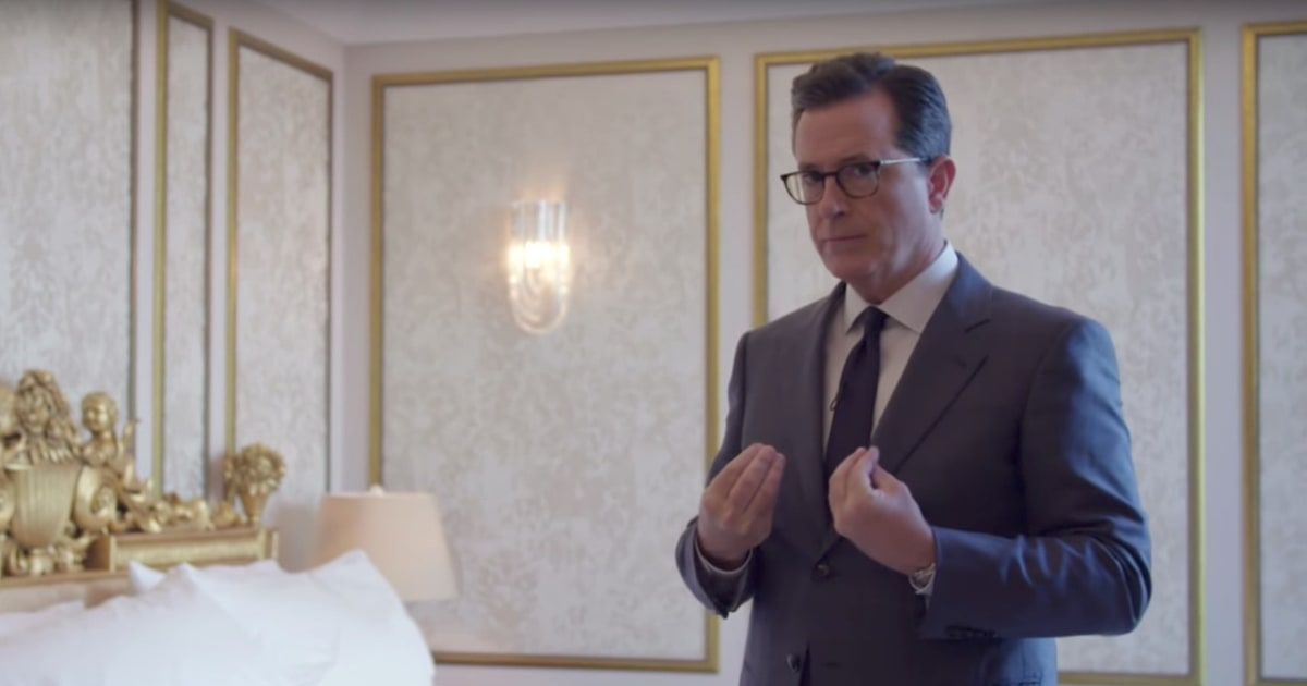 Watch Stephen Colbert Visit' -LRB- *******************************************) Pee Pee Tape' Hotel Room in Moscow – RollingStone.com