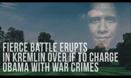 Fierce B[a]ttle Erupts In Kremlin Over If To Charge Obama With W[a]r Crim[e]s