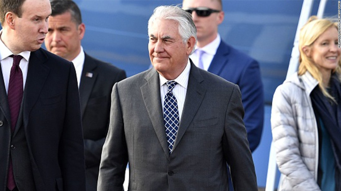 Tillerson watches Russia as stress over Syria flare