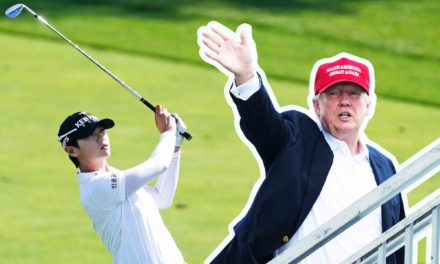 Trump Makes The Biggest Day in Womens Golf All About Him