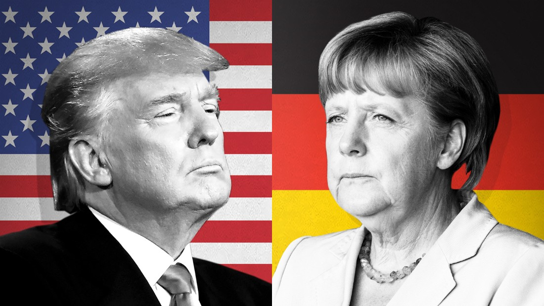 How Merkel might appeal Trump right into being Germany's good friend