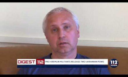 Pro-Kremlinmilitants launch 2 Ukrainian POWs