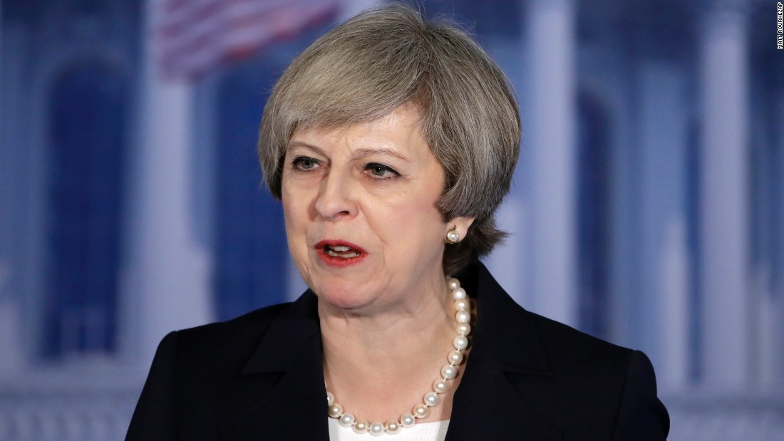 Theresa May commends Trump however promises finish to 'fell short' international combats