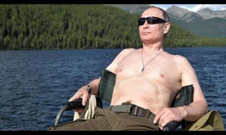 [breaking new] Vladimir putin's summer time holiday: one siberia account book