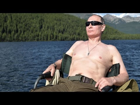 [breaking new] Vladimir putin's summer time holiday: one siberia account book