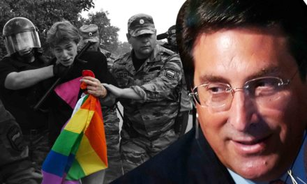 Trumps Lawyer Backed Putins Anti-GayAgenda