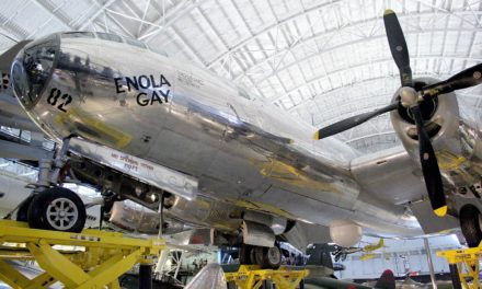 Enola Gay is a museum piece, unlike the nuclear arms Obama hoped to eradicate