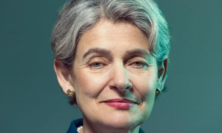 Irina Bokova: the lady standing in between Isis as well as globe heritage