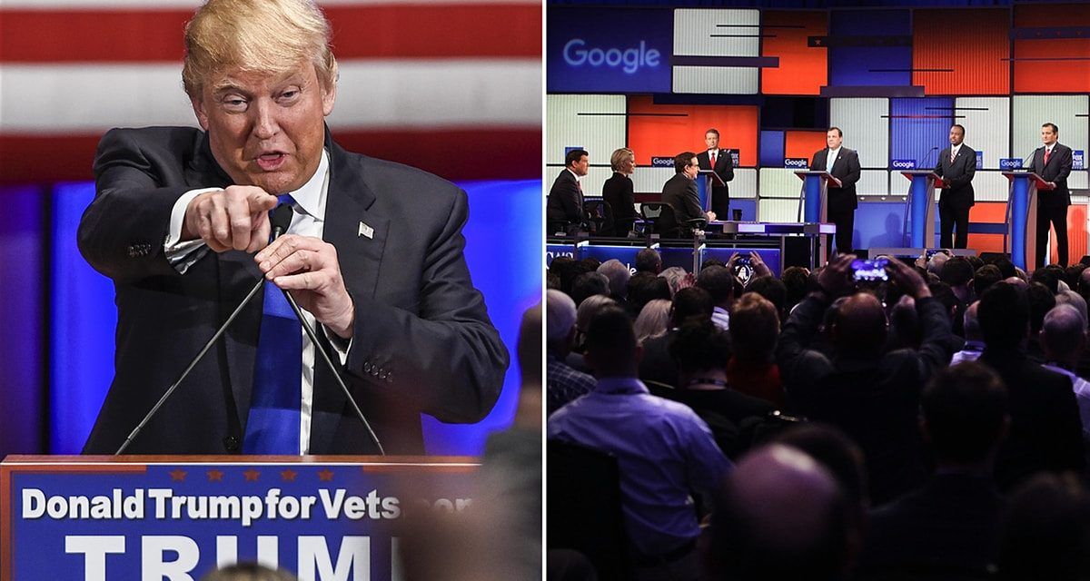 Donald Trump sidelined as competitors discussion without Republican frontrunner