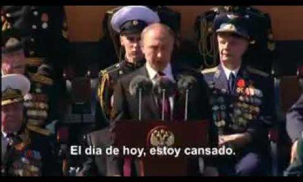 Valientes palabras de Putin
