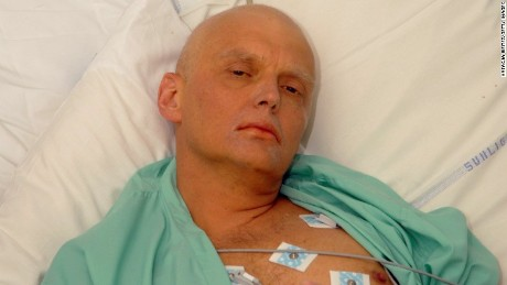 Troubling reality below Litvinenko headings