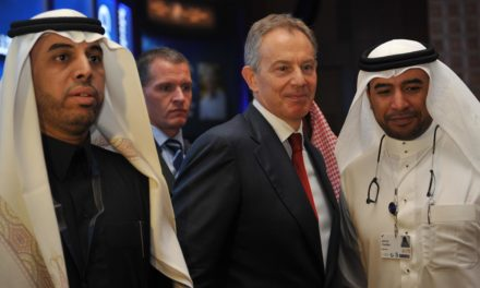 Tony Blair dated Chinese leaders for Saudi royal prince's oil company