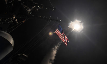 Trump's Syria Strike Puts America At The Precipice Of Another Middle East War