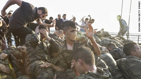 What does detaining 9,000police officers do to Turkey's army preparedness?