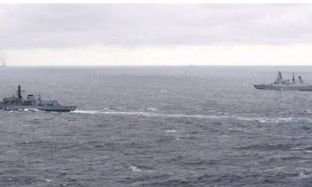 UK battleships watching Russian marine job pressure – BBC News