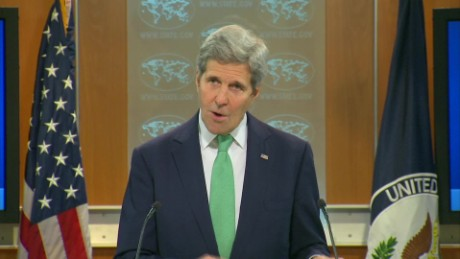 Kerry pushes again above Trump requires afflict