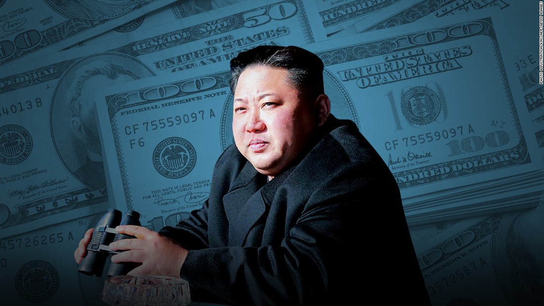 United States targets Chinese, Russian entities financing North Korea's nukes
