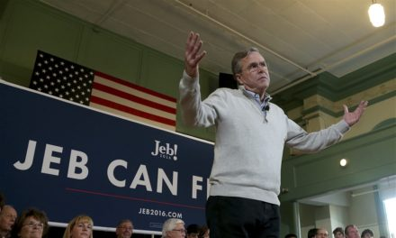 Bush talks Trump: it's 'liberating to run versus man not certified' for presidency