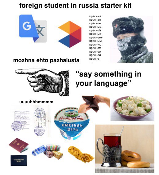 Foreign Student in Russia Starter Kit