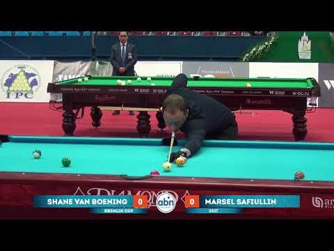 Shane Van Boening v Marsel Safiullin Kremlin Cup 10- sphere 2017 EnglishComments