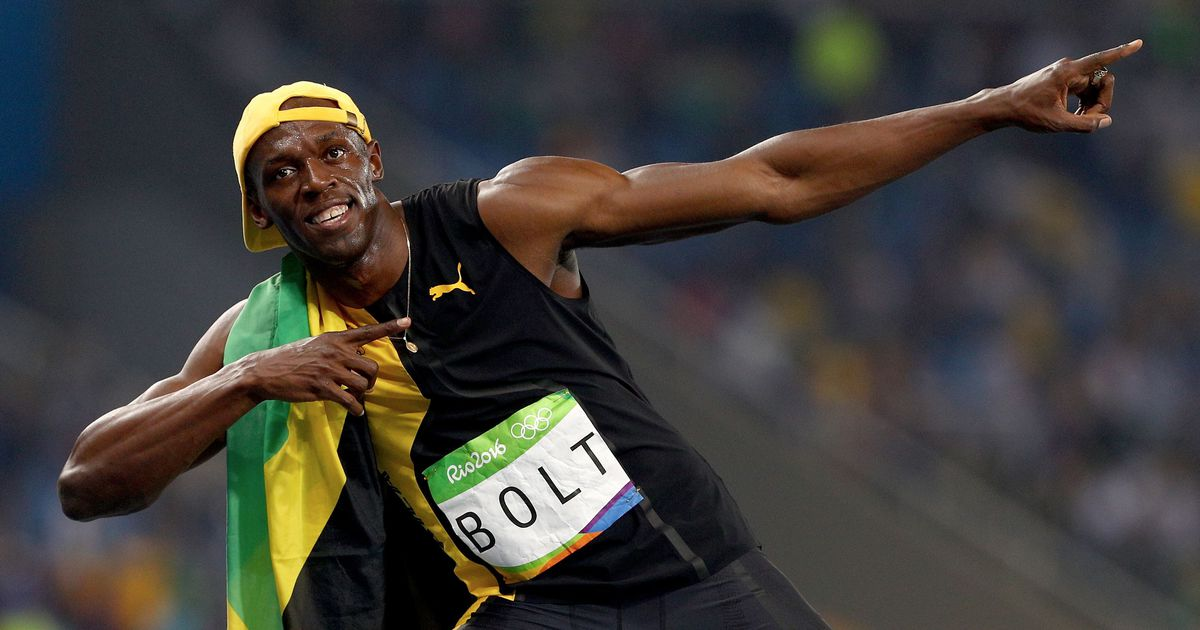 30 images that substantiate Usain Bolt is the best showman