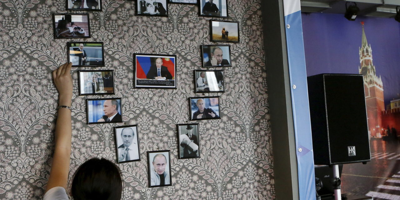 Inside The Siberian Cafe Dedicated To Vladimir Putin
