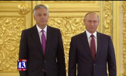 Huntsman' s week: from Moscow to Washington to Salt Lake City – fox1 3now. com