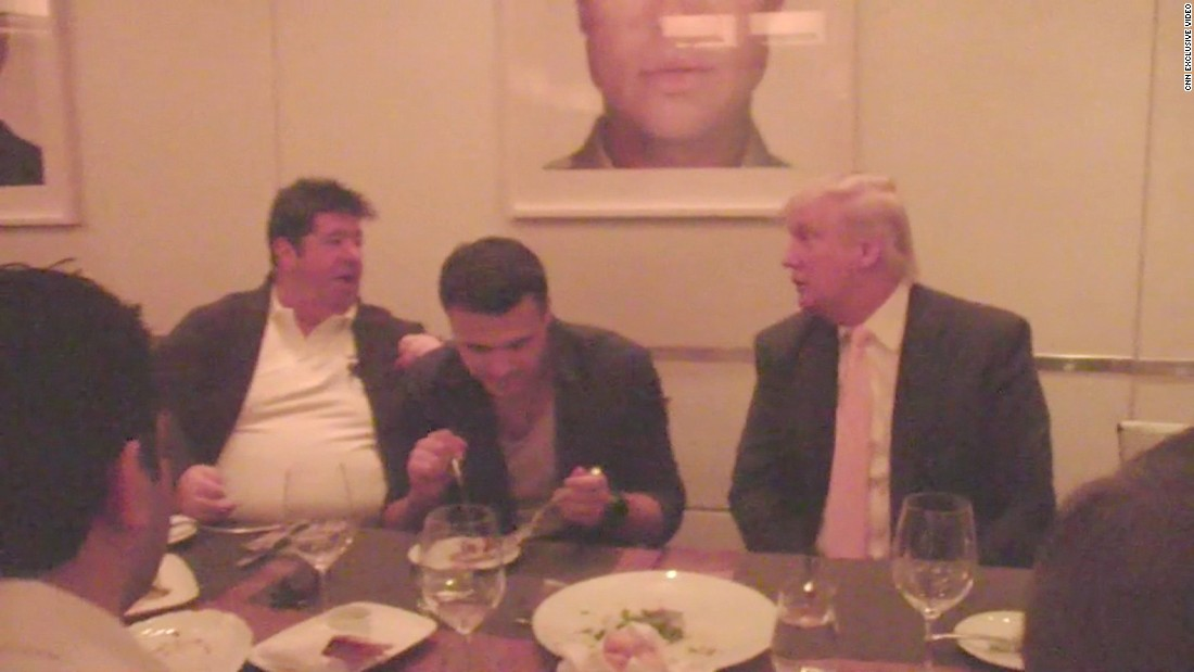 Exclusive: Video shows Trump with partners linked to email disagreement