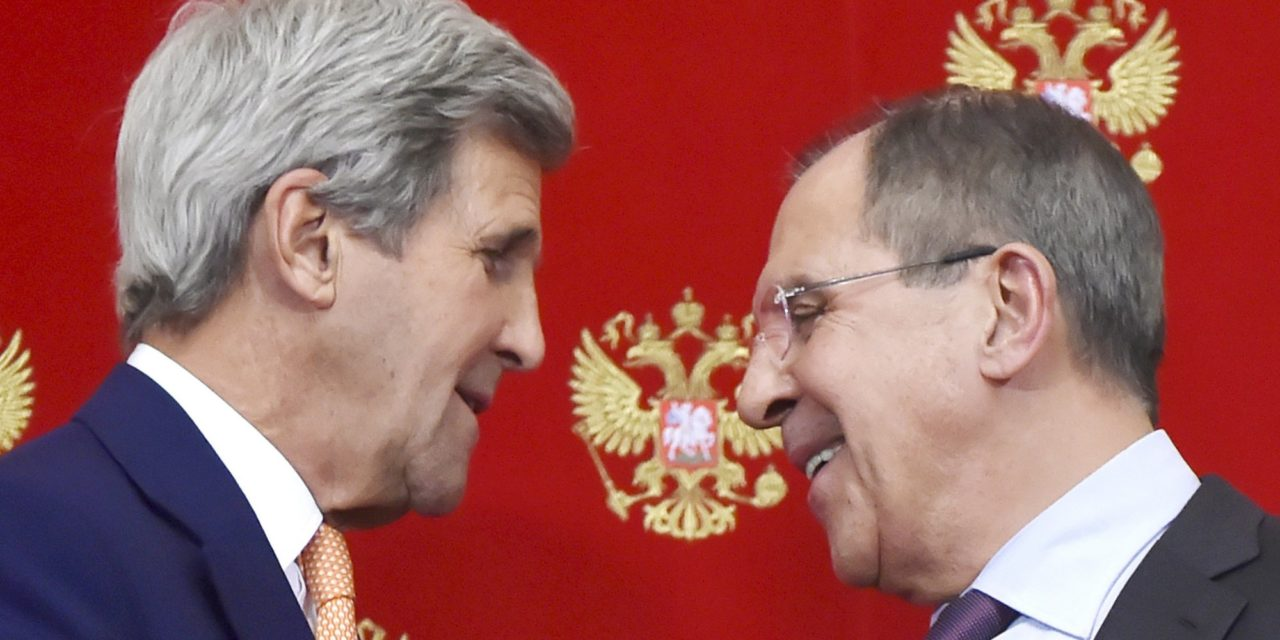 Kerry absolute Lavrov: The Odd Couple apropos of front New Cold War