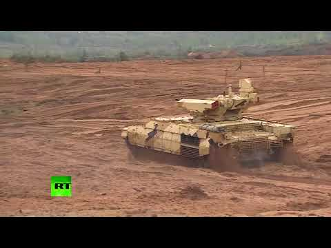 Trump Putin ▶ RAW: Putin reaches Zapad 2017 dry run, views joint workouts