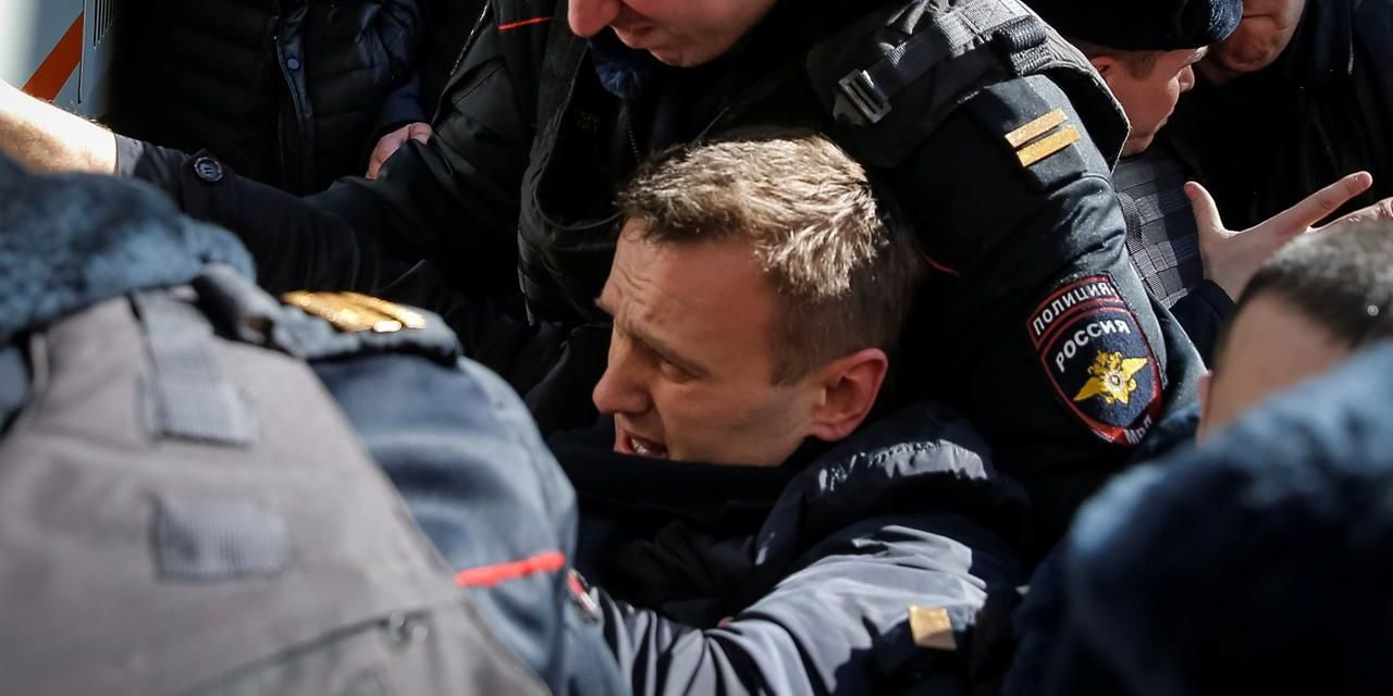 Russian resistance leader Alexei Navalny incarcerated over anti-Kremlinobjections
