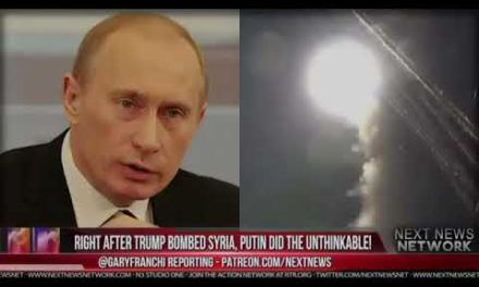 DAMAGING NEWS: RUSSIA STRIKES BACK! {RIGHT AFTER TRUMP BOMBED SYRIA, PUTIN DID THE UN vladimir putin