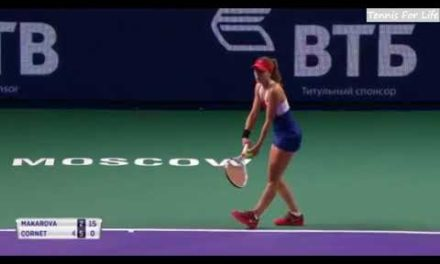 Ekaterina Makarova vs Alize Cornet – Highlights – Kremlin Cup 2017
