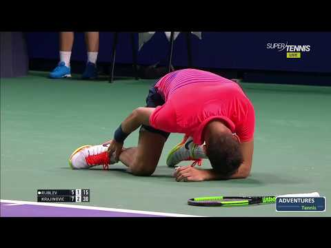 Krajinovic unpleasant slip and also landed on suit with Rubley – Kremlin Cup 2017