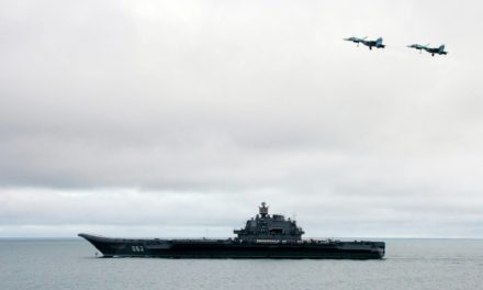 Russias Biggest Warship Steams to Syria